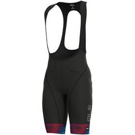 Alé Cycling Graphics PRR End Bibshorts Herrer, black-multicolor